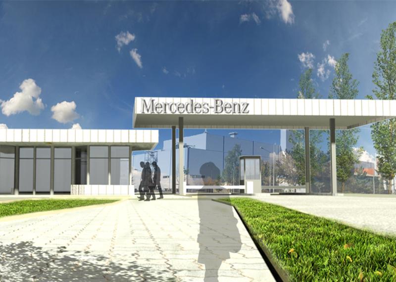 Daimler Neubau Südwache 6